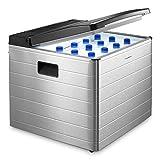 Dometic CombiCool RC 2200 EGP, lautlose, elektrische Absorber-Kühlbox aus Aluminium mit Gas-Anschluss 50 mbar, 40 Liter, 12 V und 230 V für Auto, Lkw und Steckdose